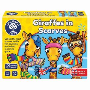 070 Giraffes In Scarves Box Rgb