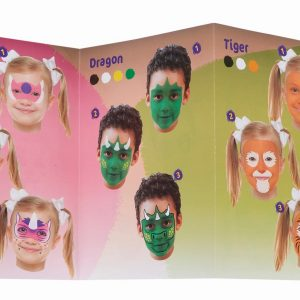 Lbfps06Ca12 Little Brian 12 Pack Face Paint Sticks Front Rgb