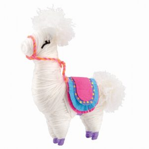 Llama Made It Yarn Animals Rgb