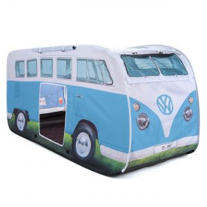 OL0180 VW camper van kids pop up play tent dove blue 2