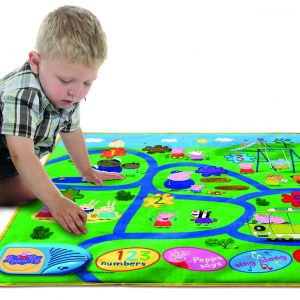 Pp15 Peppa Interactive Playmat Lifestyle Boy Playing
