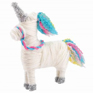 Unicorn Made It Yarn Animals Rgb