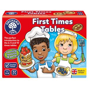 102 First Times Tables BOX FRONT WEB