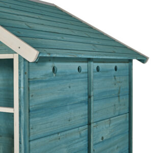 27700 AB108 Teal Boathouse with Blue Slide 6