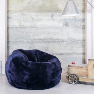 Child Beanbag Uk Domestic Navy 400