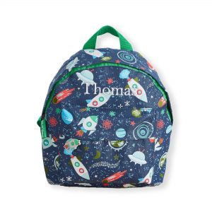 My 1St Years Personalised Space Print Mini Backpack £22 00 At Www My1Styears Com