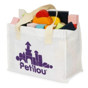 PL135 Building Blocks Cotton Bag