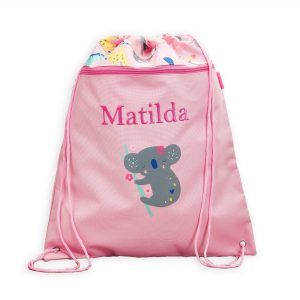 Personalised Koala Friends Print Drawstring Bag £18 00 At Www My1Styears Com