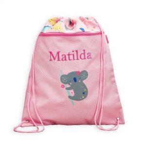 Personalised Koala Friends Print Drawstring Bag £18 00 At Www My1Styears Com